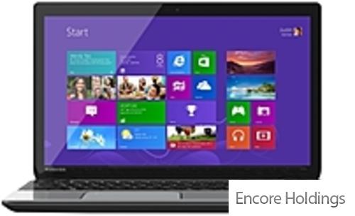 """Toshiba Satellite 15.6"""" Touchscreen Laptop Intel Core i5 1.8 Ghz 8 GB Ram 750"""